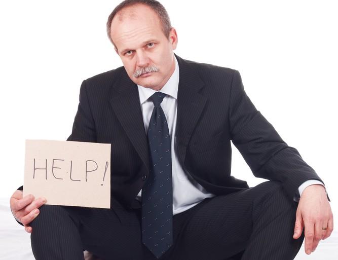 bankrupt business beg fail © Bernad Shutterstock