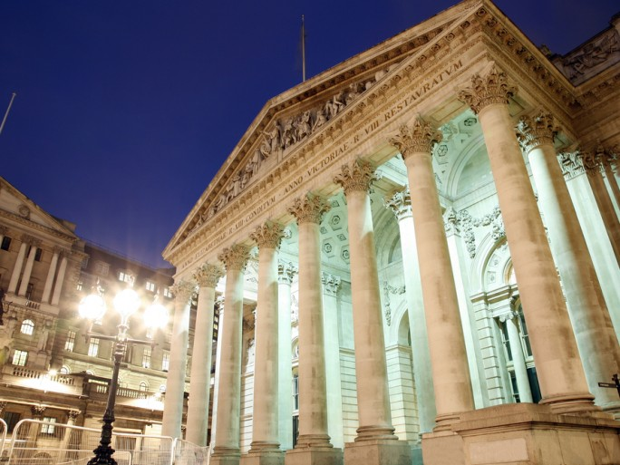 london stock exchange shares finance money © Bikeworldtravel Shutterstock