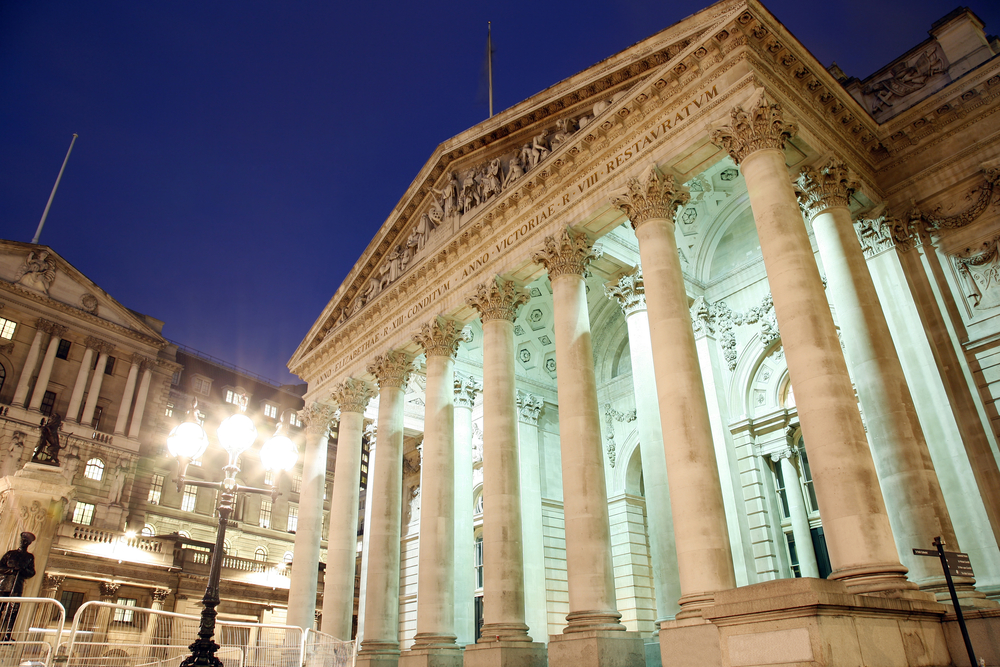 london stock exchange shares finance money © Bikeworldtravel Shutterstock
