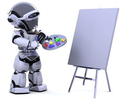 Art Robot © Kjpargeter Shutterstock 2012