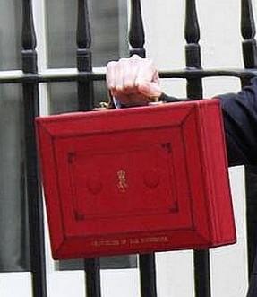 budget day briefcase