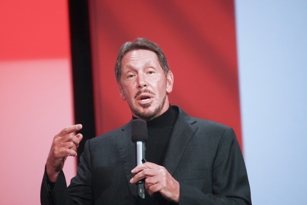 Larry ellison Oracle CEO © drserg / Shutterstock.com