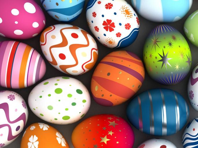 Easter Eggs colour © Ufuk ZIVANA Shutterstock