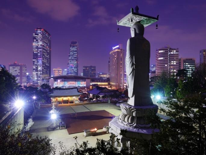 Seoul gangnam buddha south korea © SeanPavonePhoto