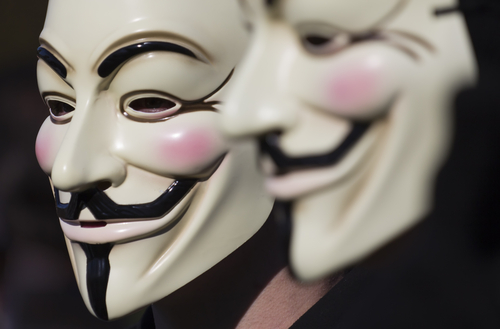 Anonymous © Rob Kints Shutterstock 2012