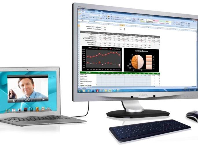 Philips USB Docking Monitor 231P4UPES