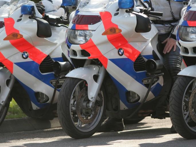 Holland dutch police motor bike BMW © Bas Rabeling Shutterstock