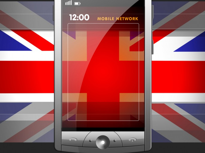 British mobile network © Norebbo Shutterstock
