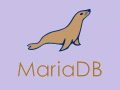 Mariadb-seal-flat-browntext
