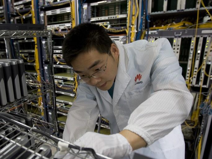 Huawei factory