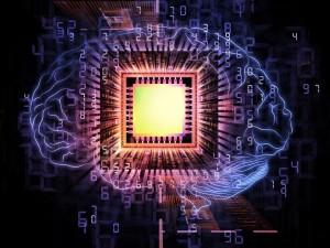 brain computing - Shutterstock - © agsandrew