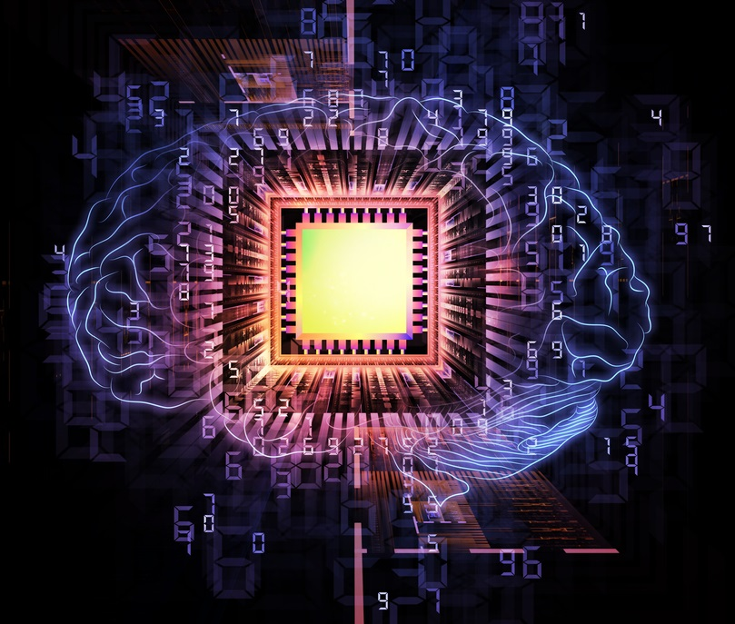 brain computing - Shutterstock - © agsandrew