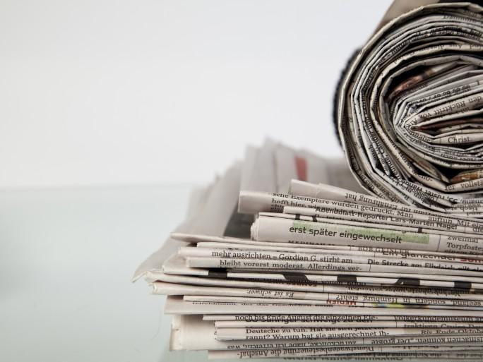 newspapers media news © macgyverhh Shutterstock`