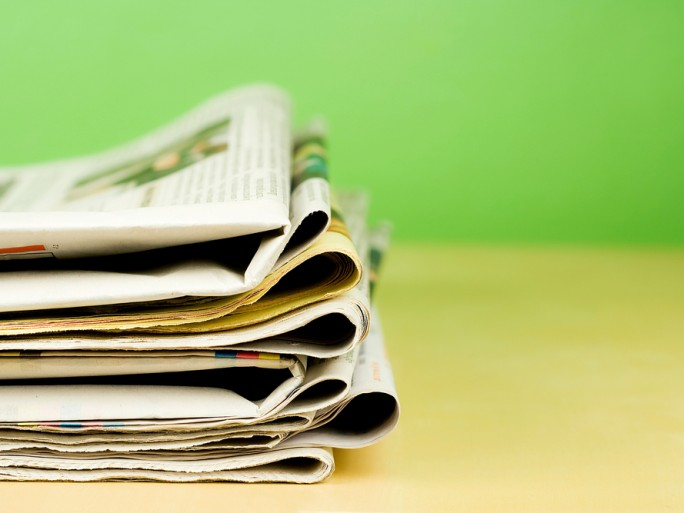 newspapers news media © kret87 Shutterstock