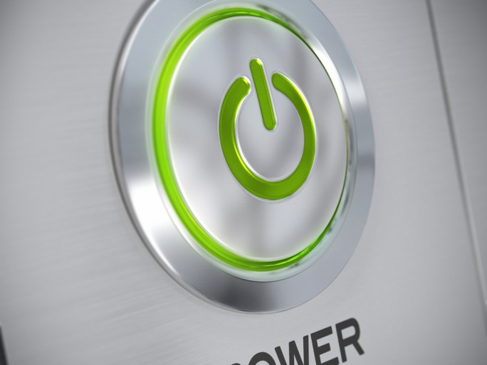 Power electricity on switch © Olivier Le Moal Shutterstock