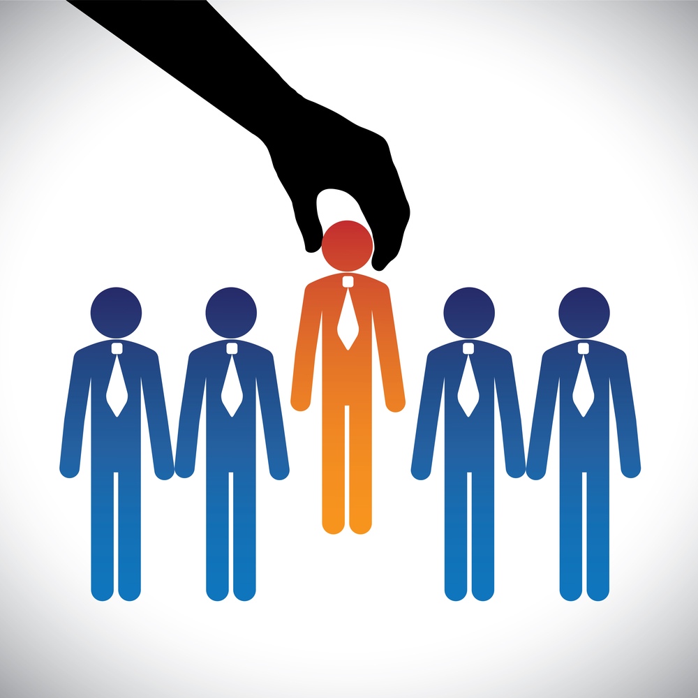 Employment job headhunter search © Santhosh Kumar Shutterstock