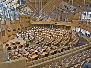 Scottish Parliament Building Hollyrood