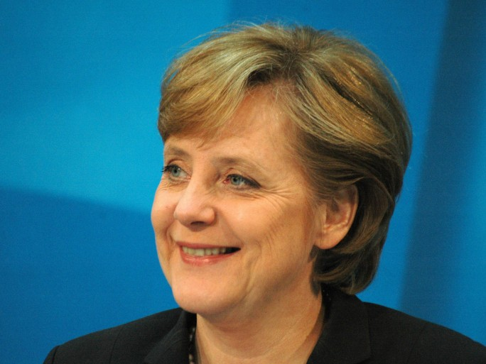 Angela Merkel happy © 360b shutterstock