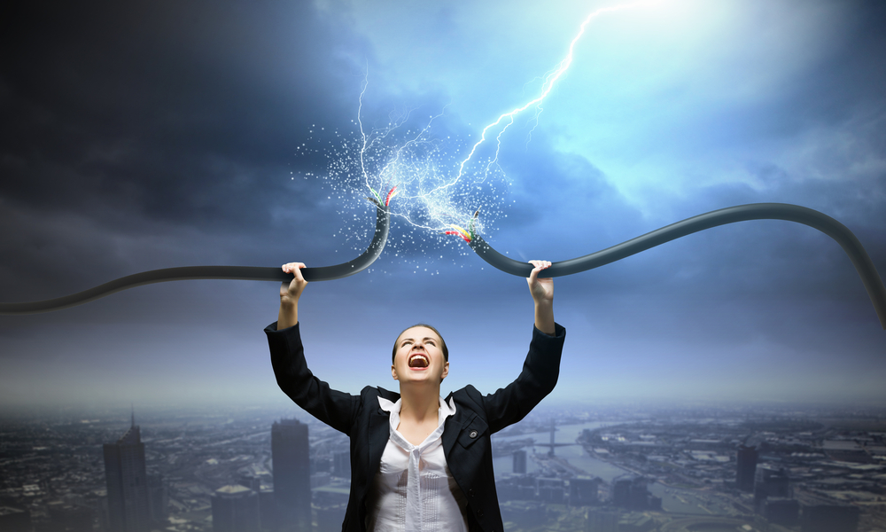 women business tech it power electricity © Sergey Nivens Shutterstock