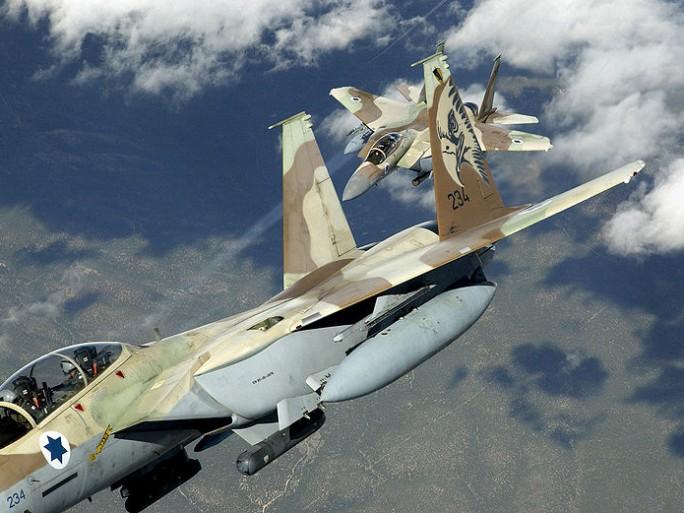 Israeli F-15 fighter planes