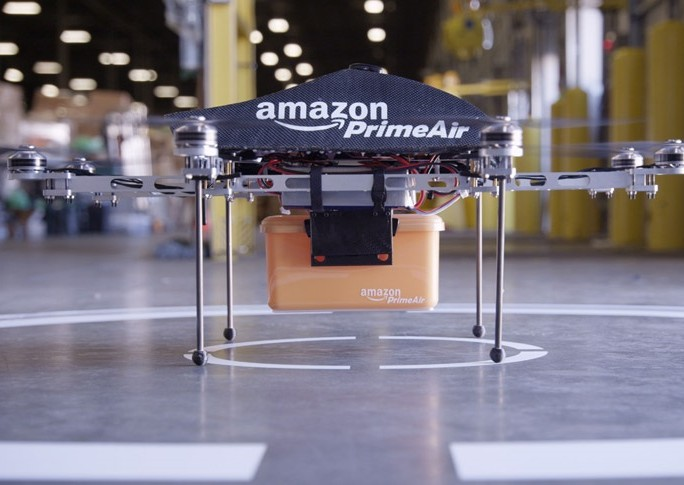 Prime Air 2 Anazon drone delivery copter