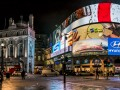 Piccadilly circus London tourist night © Kiev.Victor Shutterstock