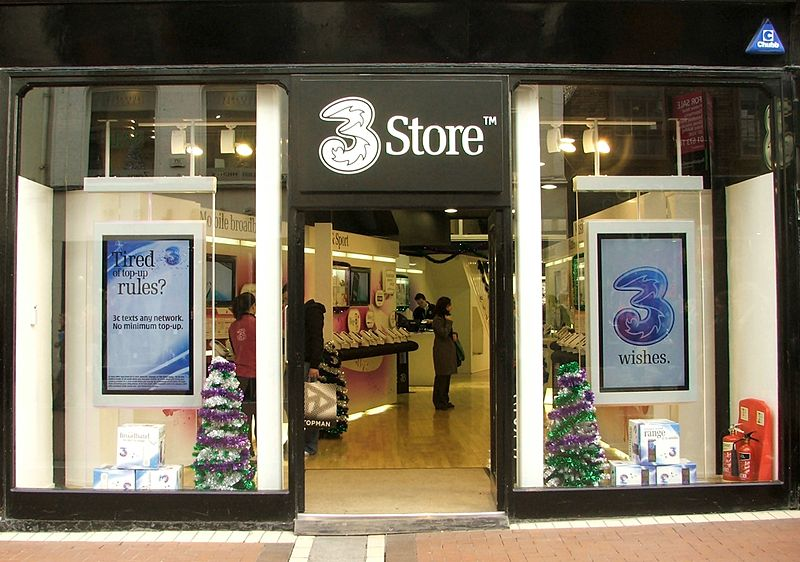 Three Store Grafton Street Dublin