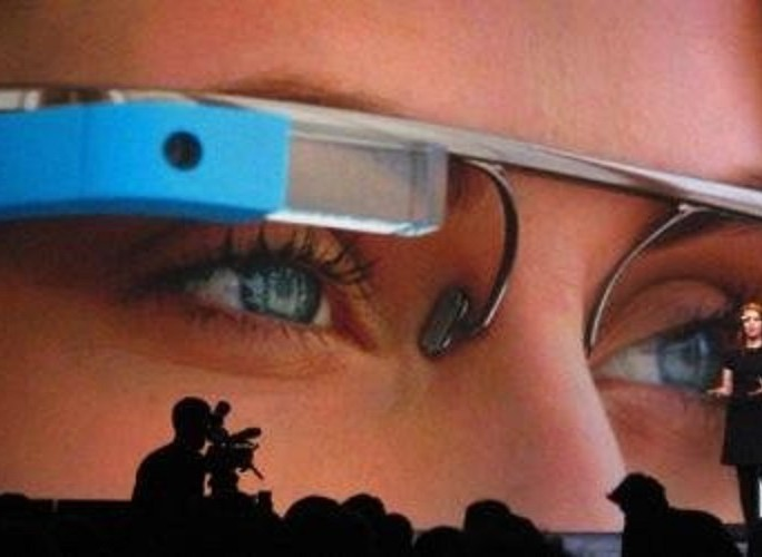 google glass cinema large wearable