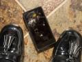 Smartphone broken screen floor Shutterstock