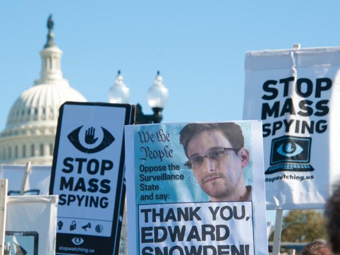 Edward Snowden privacy protest NSA US Washington © Rena Schild Shutterstock