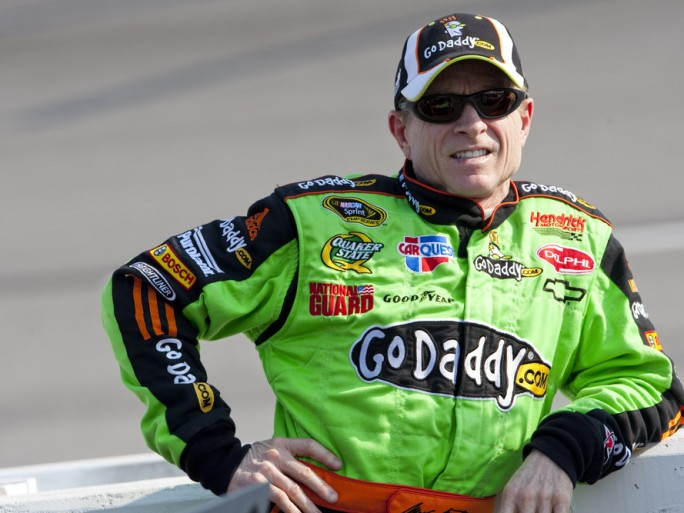 GoDaddy racing driver sponsorship © Action Sports Photography Shutterstock