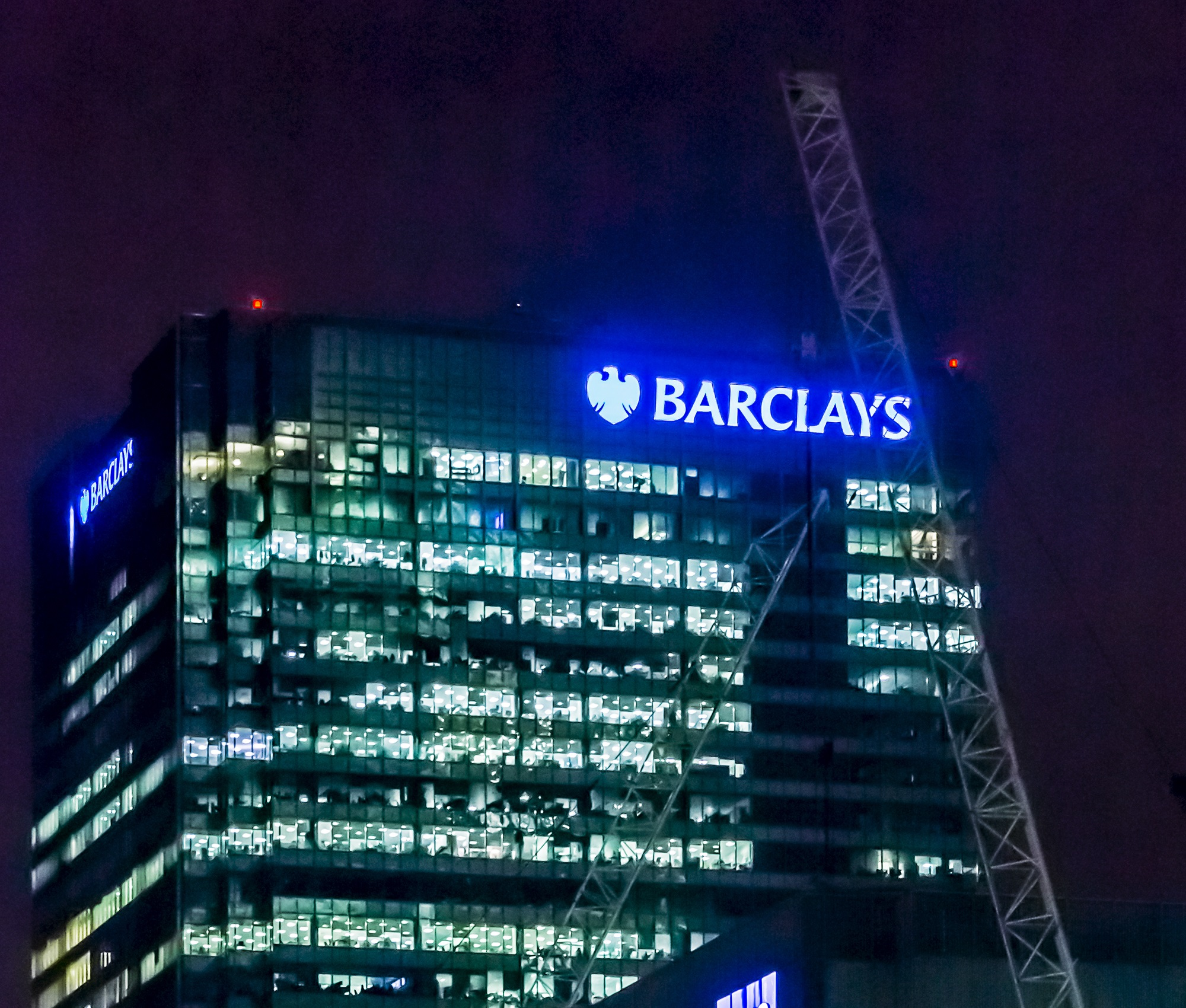 barclays bank in london