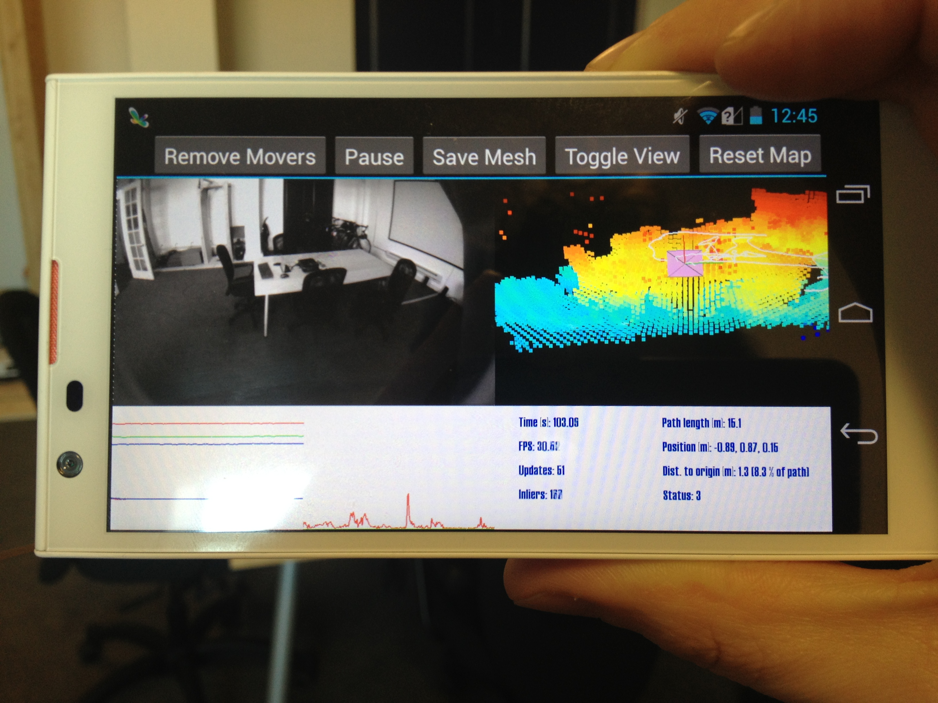 Google Project Tango Seeks Better Smartphone Mapping