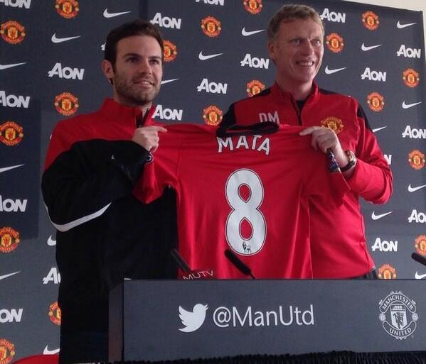 juan mata © Manchester United