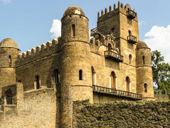 Ethipia Fasilides Castle © Anton_Ivanov Shutterstock