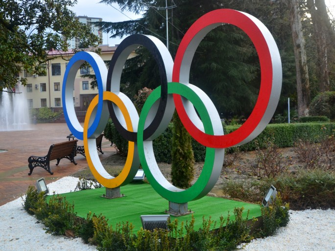 Sochi winter olympics logo © Martynova Anna Shutterstock