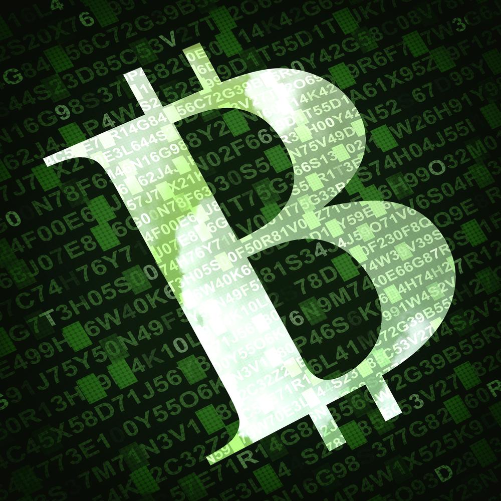 Bitcoin Green virtual money © Niyazz Shutterstock