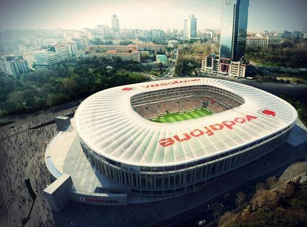 vodafone stadium istanbul