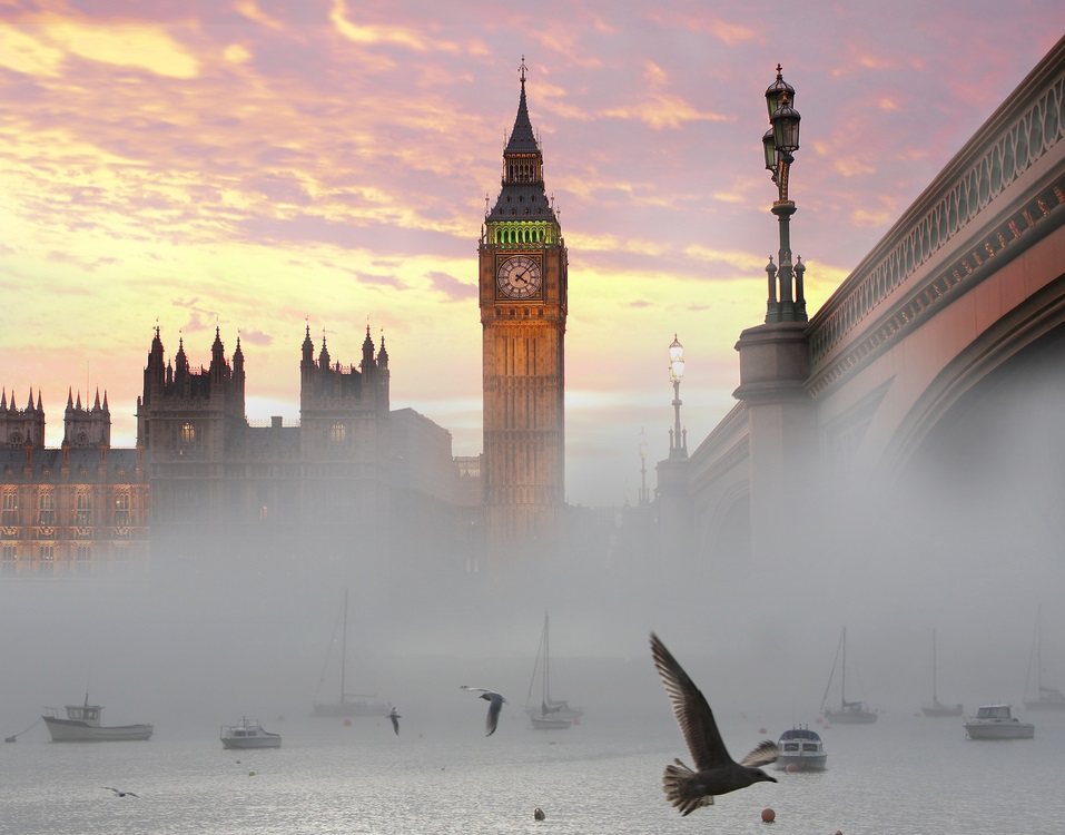 government parliament big ben public sector clouds bird © Samot Shutterstock