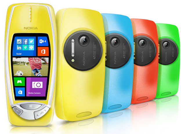 Nokia 3310 PureView Windows Phone April Fools Spoof