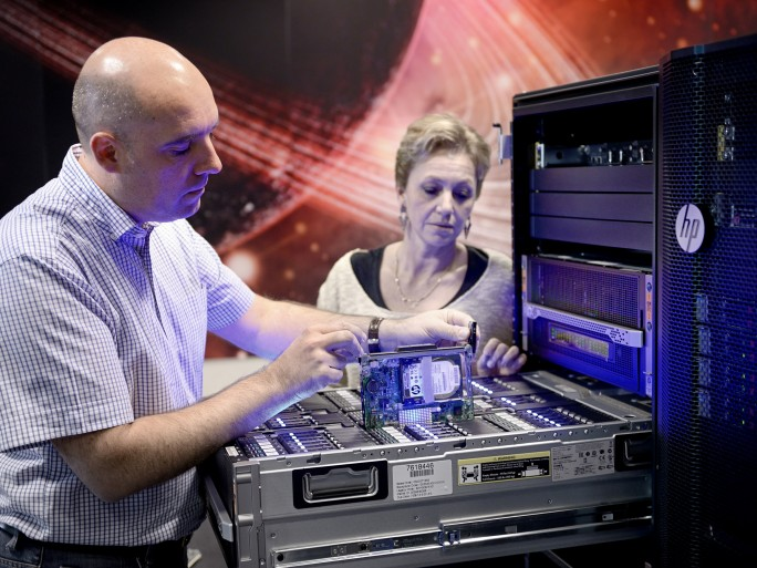 HP Moonshot Discovery Lab