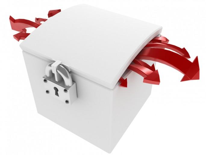 dropbox box leak storage security breach © higyou Shutterstock