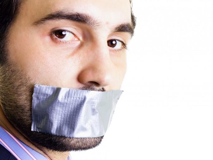 censor gag free speech right to be forgotten silence © Alexandru Logel Shutterstock