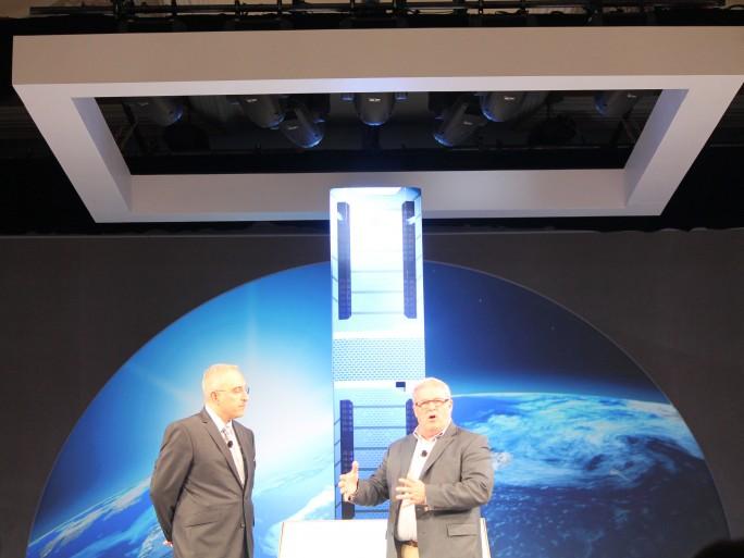 HP APOLLO launch 2014 Antonio Nieri HP Ed Goldman Intel image by Peter Judge
