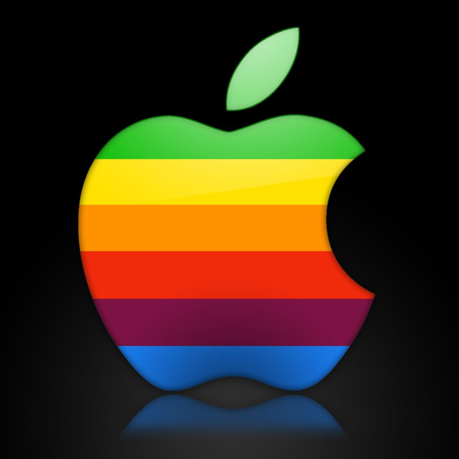 apple colour logo