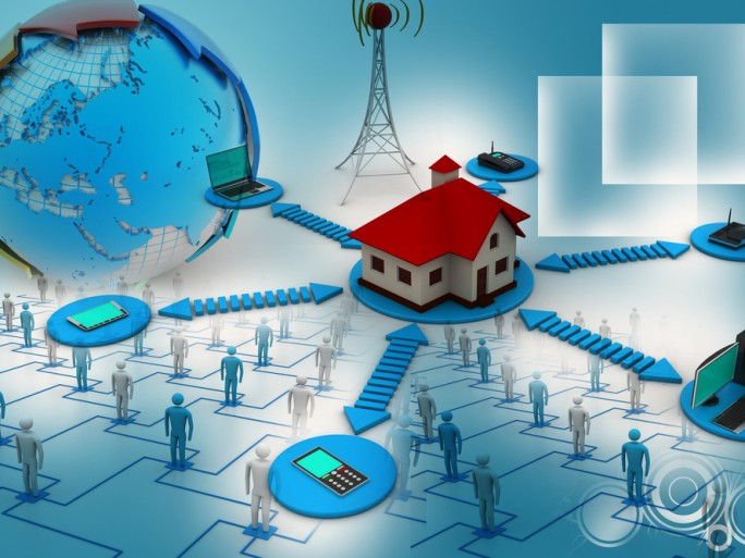 smart home meter wi-fi energy green network wireless © Horoscope Shutterstock