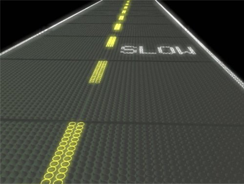 solar roadways signs