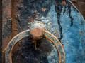 cobweb door right to be forgotten old security lock © Mr Doomits Shutterstock