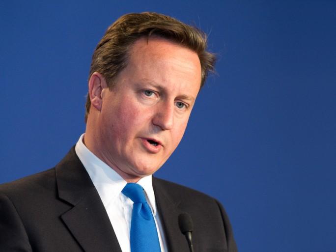 David Cameron © Frederic Legrand Shutterstock