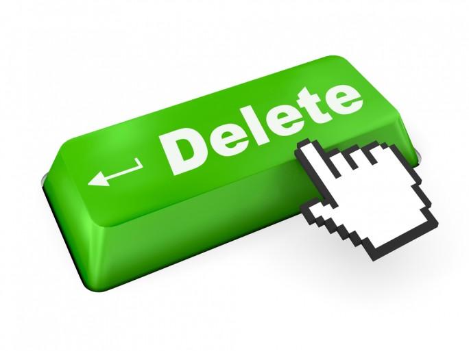 Erase delete forget right to be forgotten key © Sarawut Aiemsinsuk Shutterstock